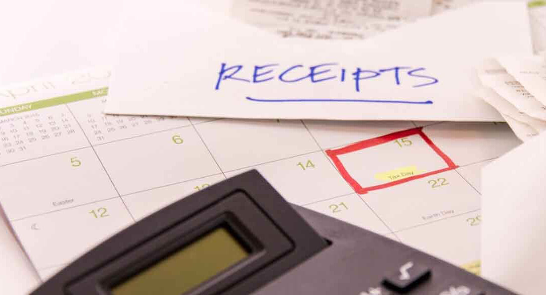 Prepping Your Receipts for Your 2017 Taxes